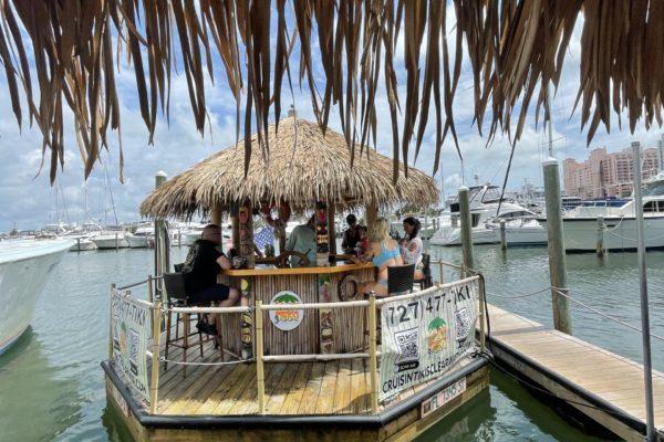 Docked Cruisin Tiki Hut