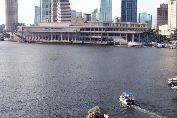 Tampa Bay Skyline Cruisin Tiki